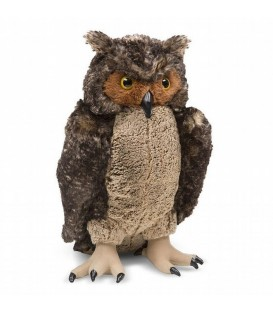 Knuffeldier uil | 43 cm lang | Melissa and Doug