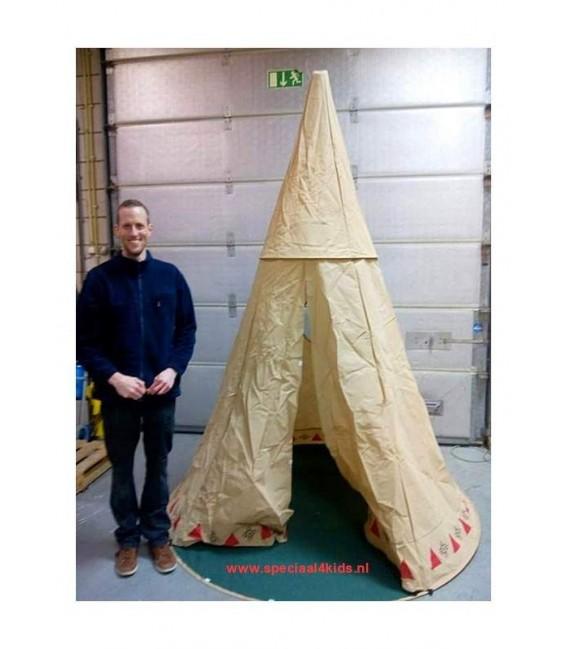 speeltent Teepee Indianen Tent foto 7