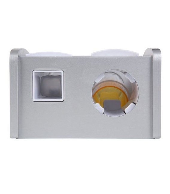 Houten frisdrank dispenser foto 5