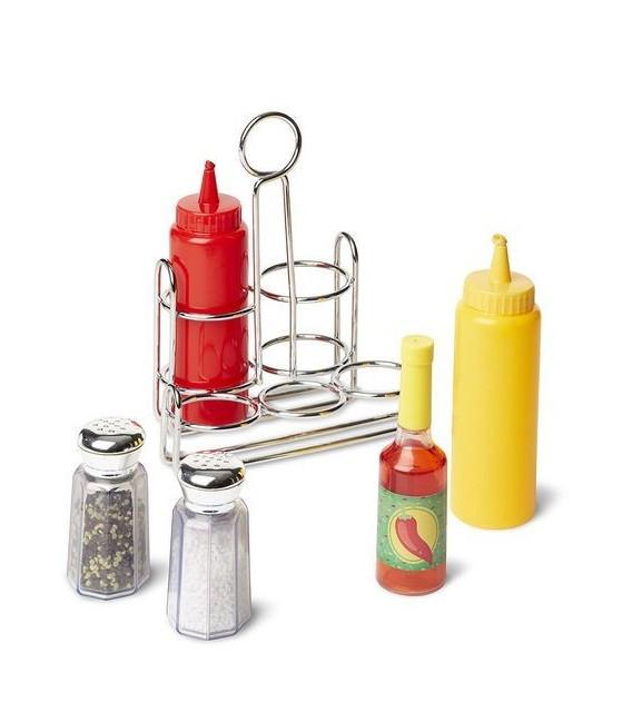 Speelgoed eten | peper, zout en sausjesset foto 1