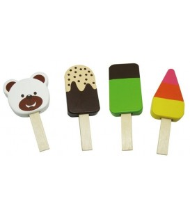 Speelgoed eten | houten ijslollies | Mamamemo