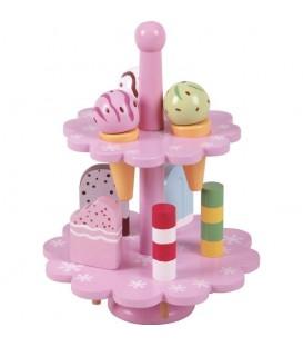 ijsstandaard| houten speelgoed eten | Jumini