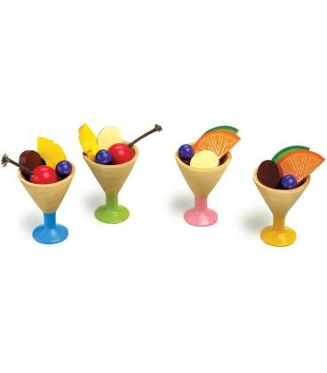 Houten ijscoupe | houten speelgoed eten | Small Foot