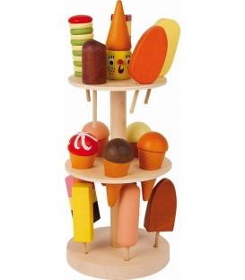 Houten ijsstandaard| speelgoed eten | Small Foot
