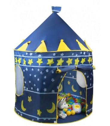 Speeltent kasteel blauw foto 1