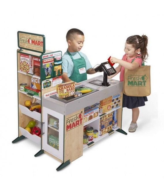 Melissa and Doug Fresh Mart Grocery Store foto 10