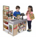Melissa and Doug Fresh Mart Grocery Store | supermarkt | hout