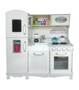 Speelgoed keuken met koelkast | houten keuken | S4K-Toys