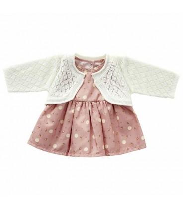 ByAstrup poppen jurk | met vestjes | maat 35