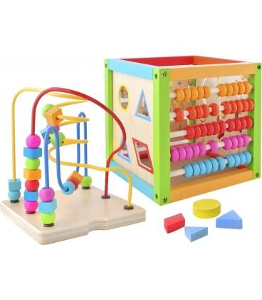 activiteiten kubus | houten speelgoed f1
