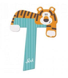 Sevi houten dieren letter T