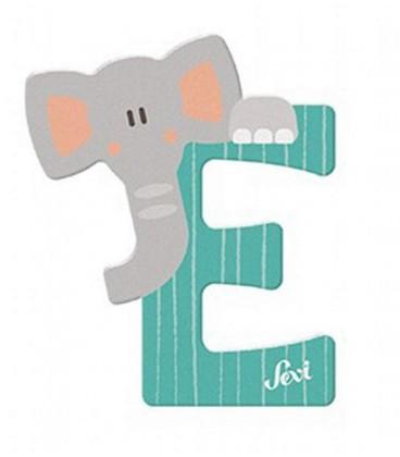 Sevi houten dieren letter E