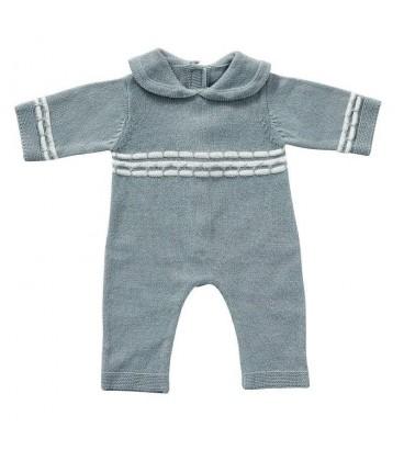 ByAstrup Babypakje blauw gebreid | maat 35 | ByAstrup specialist