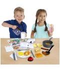 Melissa & doug Star Diner Restaurant uitbreidingsset | Houten speelgoed