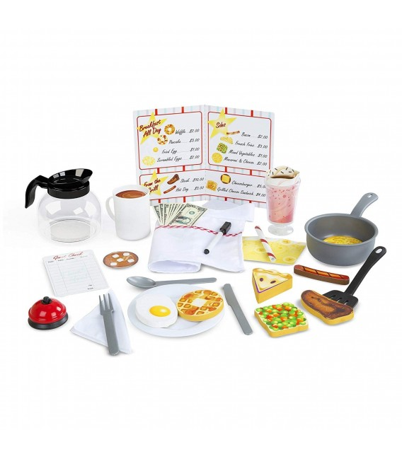 Melissa and doug Star Diner Restaurant uitbreidingsset f2