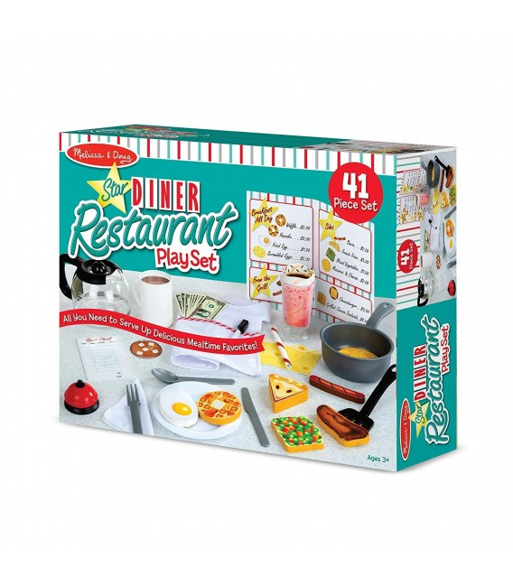 Melissa and doug Star Diner Restaurant uitbreidingsset f3