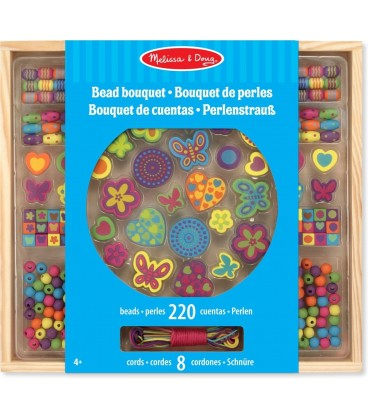 Houten kralenset | Melissa and Doug | 220 delig