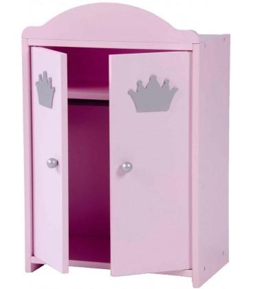 Poppen kledingkast | Prinses Sophie collectie | poppen wardrobe