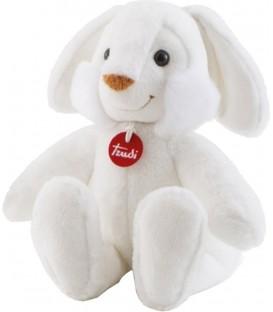 Knuffel konijn Met Licht En Geluid   Wit 34 Cm   Zachte knuffel   Trudi