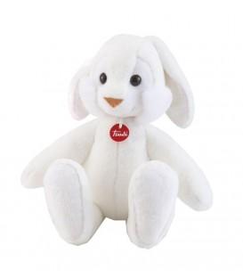 Knuffel konijn Coniglio 52 Cm   kleur Wit   Zachte knuffel   Trudi