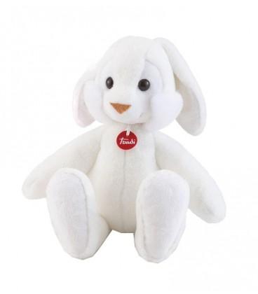 Knuffel konijn Coniglio 52 Cm | kleur Wit | Zachte knuffel | Trudi