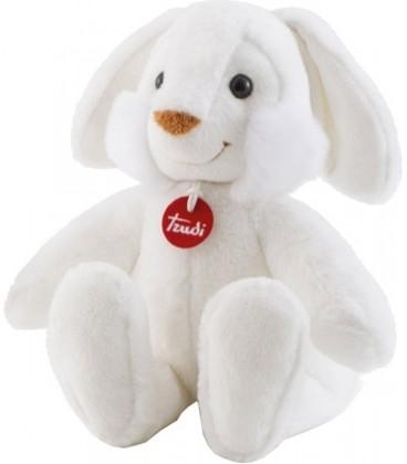 Knuffel konijn Coniglio 88 Cm | kleur Wit | Zachte knuffel | Trudi