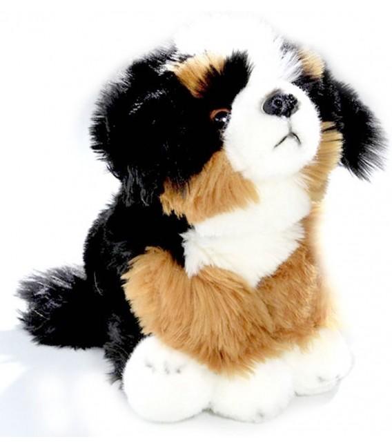Knuffelhond Berner Sennen zittend | Pup van 22 cm |  Bicolini