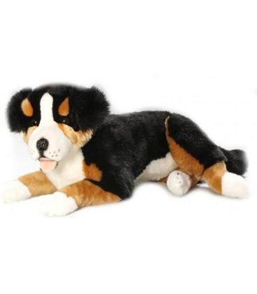 Knuffelhond Berner Sennen liggend | Knuffel van 60 cm | Bicolini