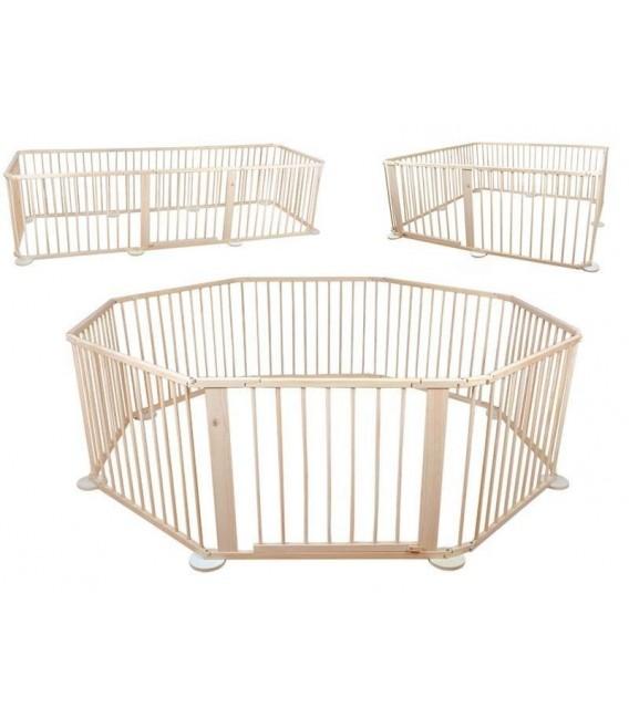 grondbox voor baby | playpen | kruipbox | speelbox | houten uitvoering