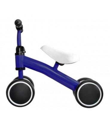 Loopfiets met 4 wielen | kleur Blauw | foto 1
