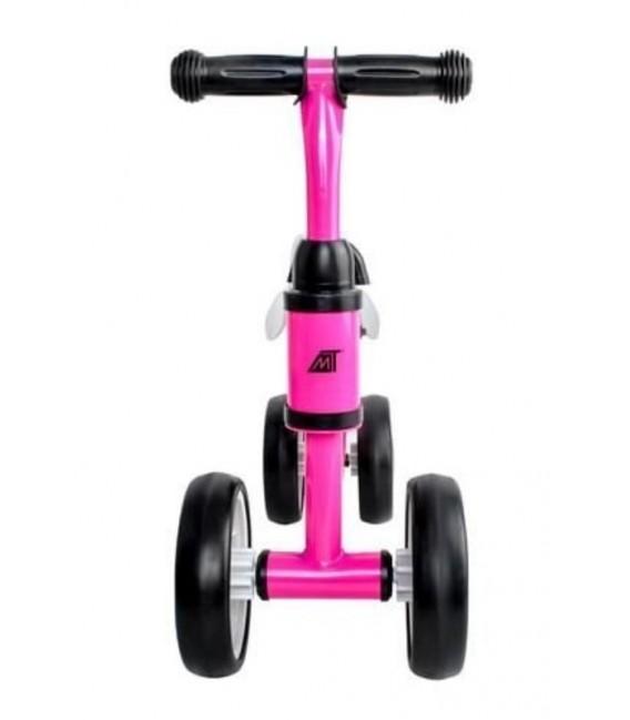 Loopfiets met 4 wielen   kleur Roze   foto 2