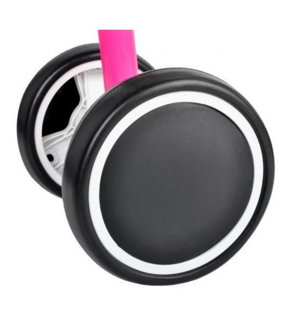 Loopfiets met 4 wielen   kleur Roze   foto 3