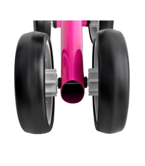 Loopfiets met 4 wielen   kleur Roze   foto 5