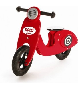 Tidlo Retro Scooter Rood