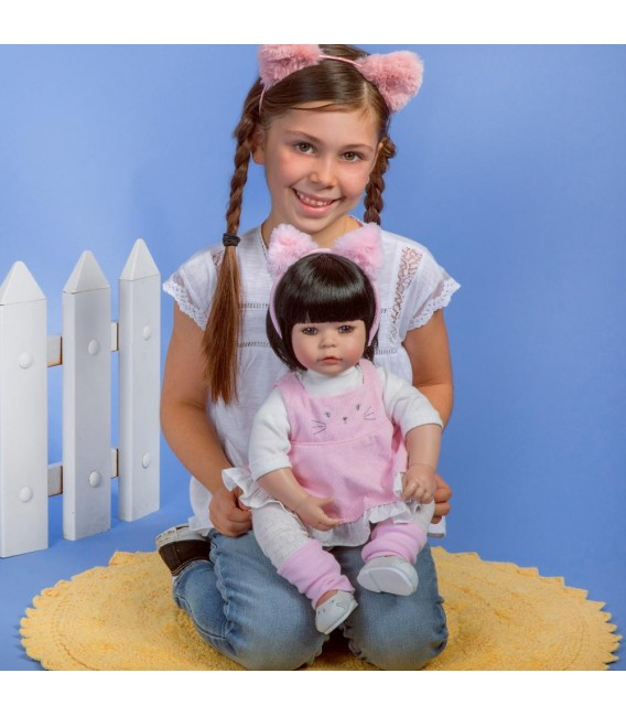 Adora pop Kitty Kat | Levensechte pop | Adora Toddlertime collectie
