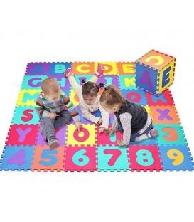 Grote puzzelmat van 3,50 m² | Eva foam speelmat