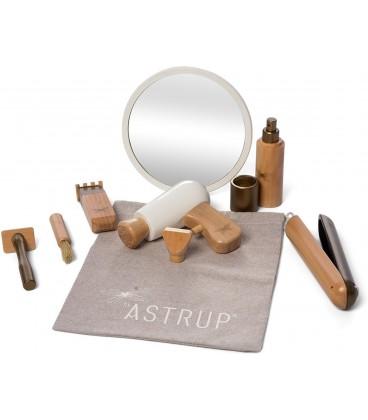 Byastrup Kappersset - 9-delige houten speelset