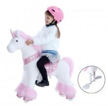 Ponycycle Glitter Unicorn U302 voor kinderen van 3 tot 5 jaar