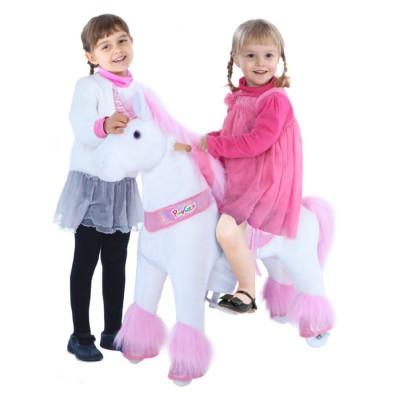 Ponycycle Glitter Unicorn U302 voor kinderen van 4 tot 9 jaar
