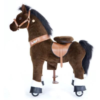 Ponycycle donkerBruin Paard U421 voor kinderen van 4 tot 9 jaar