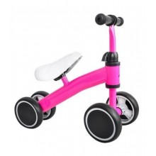 Loopfiets met 4 wielen | kleur Roze | foto 1