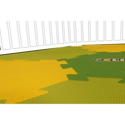 Speelmat voor grondbox Strolch® 1 + 5 - Geel/groen