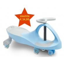 Wiebelcar - wiebelwagen - loopwagen - swingcar - licht blauw