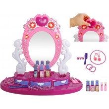 Kinder make-up tafel, Kinder opmaakspiegel – kaptafel - Princes - Kantelbaar