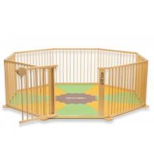Speelmat voor grondbox Strolch® 1 + 7 - Kleur groen oranje