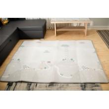Grote speelmat van 200 x 180 cm - opvouwbaar - Waterbestendig