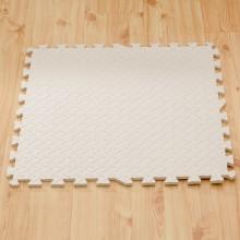 Puzzelmat met 4 Witte Tegels - 120 x120 cm - Eva Foam