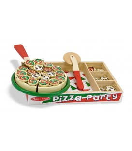 Melissa and Doug houten pizza