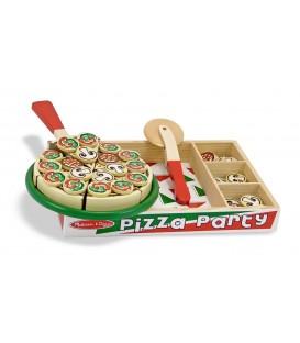 Houten pizza