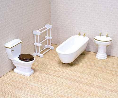 Badkamer Voor Poppenhuis : Poppenhuis badkamer melissa doug speciaal kids